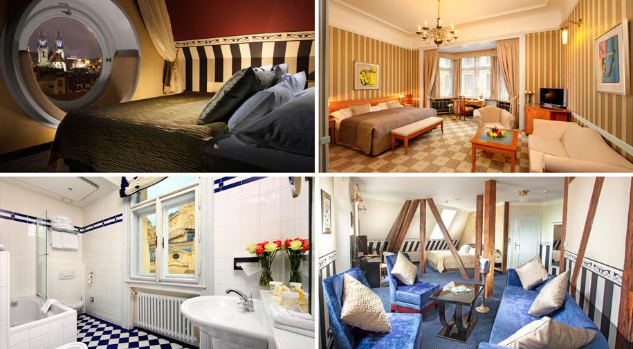 Отель Париж на площади Республики в Праге