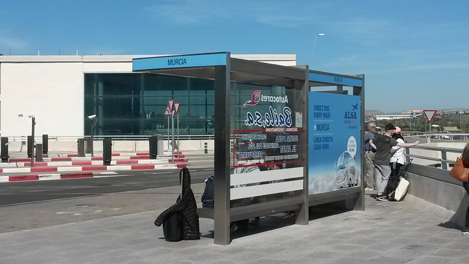 Из Аликанте в Мурсию - остановка в аэропорту Аликанте