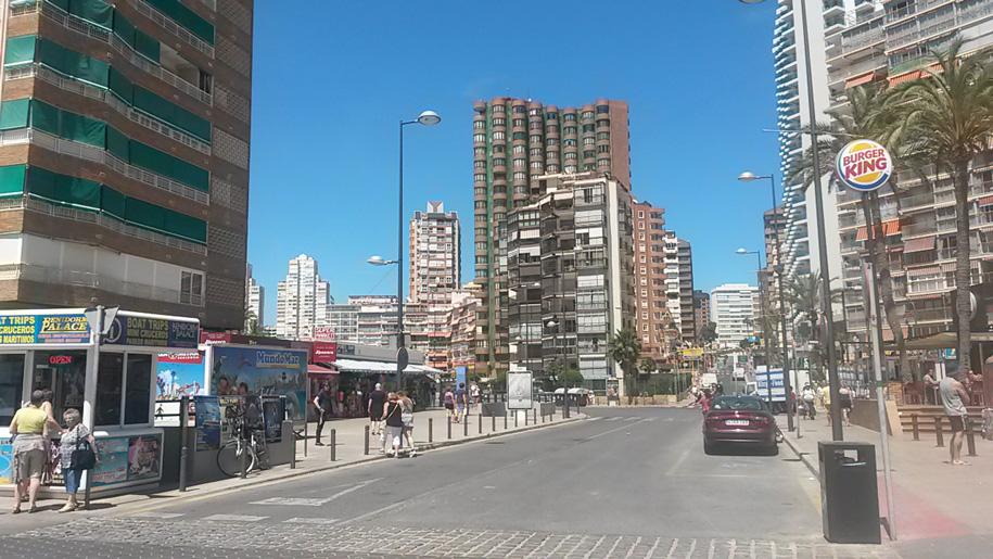 Улицы Бенидорма фото