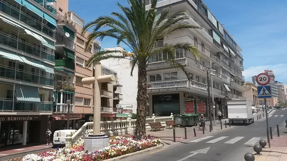 Улицы Бенидорма, Испания