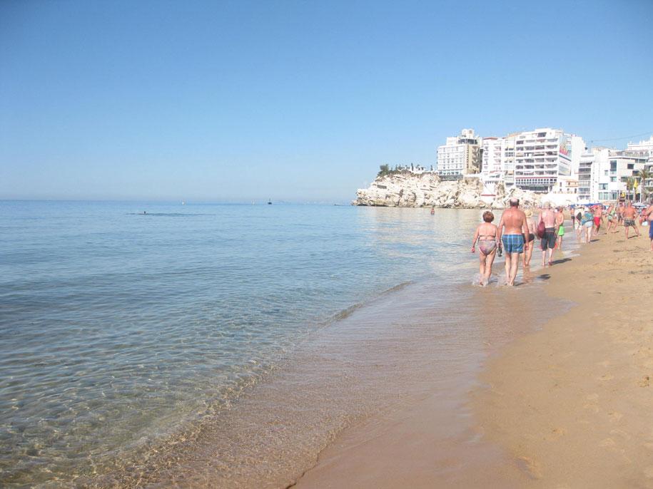 Пляжи Бенидорма - пляж Levante