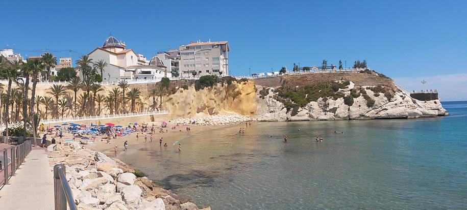 Пляжи Бенидорма, Испания - пляж Маль Пас