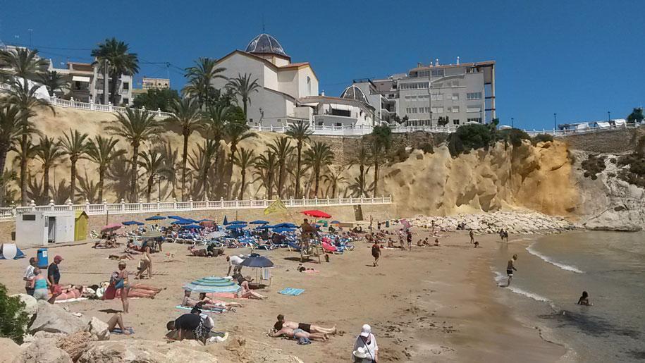 Пляжи Бенидорма - пляж Маль Пас
