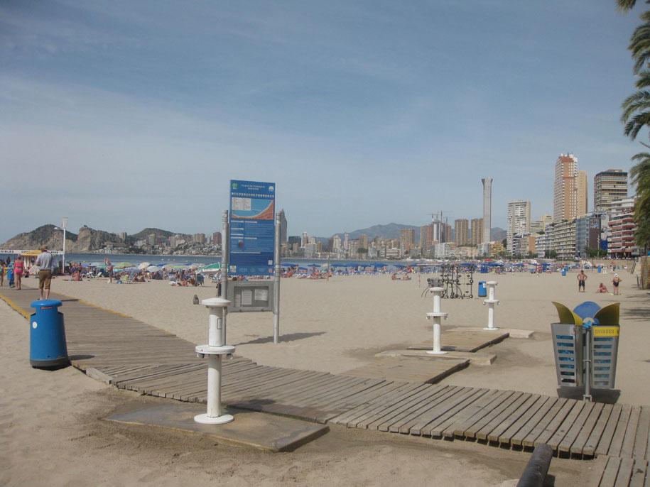Пляжи Бенидорма - пляж Poniente