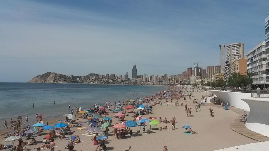 Пляжи Бенидорма - пляж Поньенте
