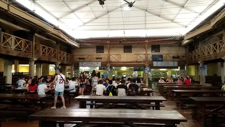 Кафе в парке Терра Митика в Бенидорме