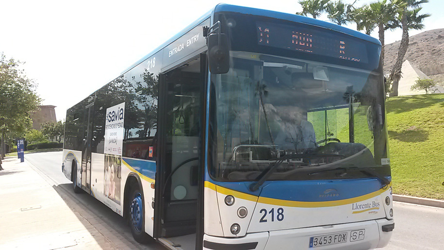 Автобусы Терра Митика - Бенидорм