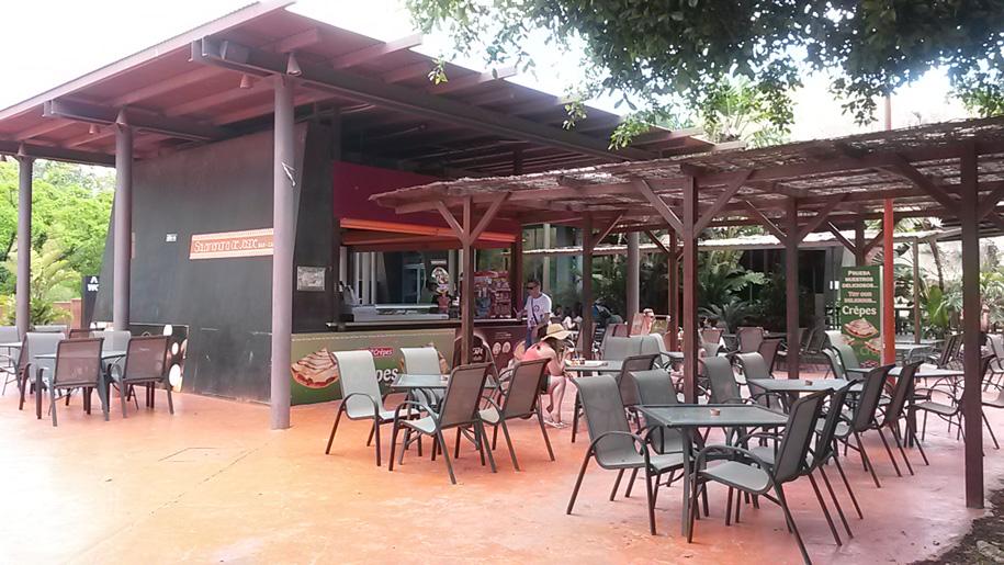 Кафе в парке Терра Натура, Бенидорм