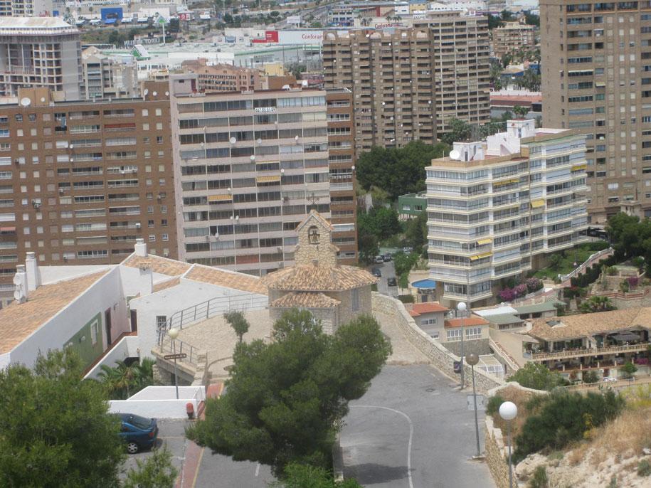 Смотровая площадка возле часовни, гора Тоссаль-де-Кала