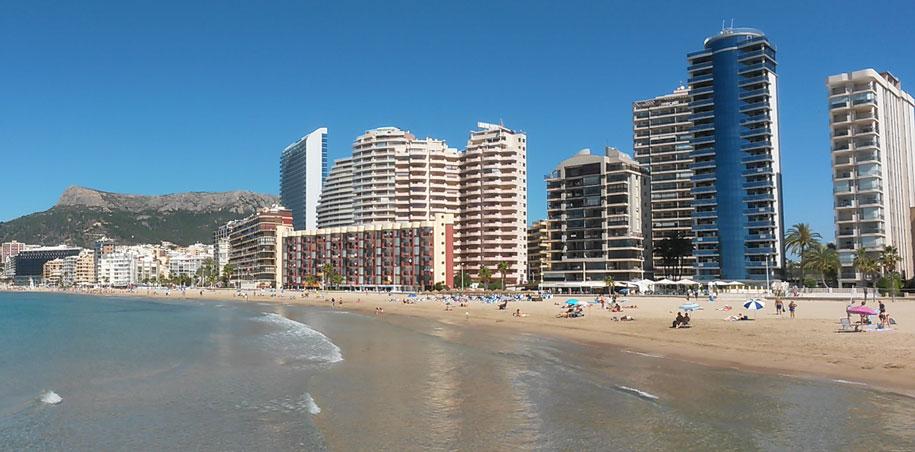 Пляж Ареналь-Бол, Кальпе, Испания