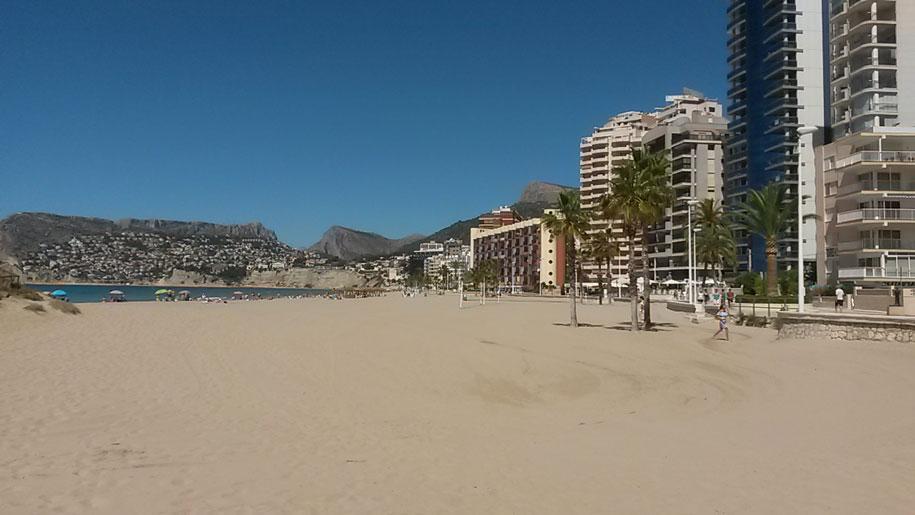Пляж Аренал-Бол, Кальпе, Испания