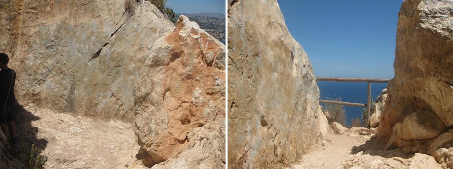 Площадка с противоположной стороны скалы Ифач