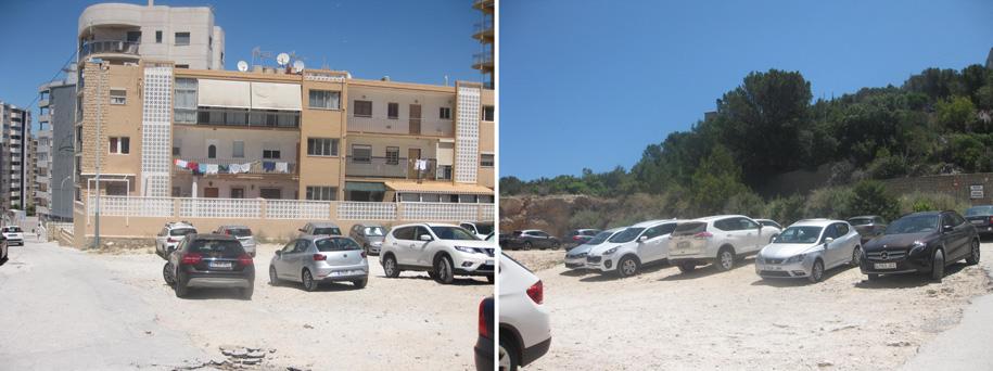 Парковка возле Natural Park of Penyal d'Ifac