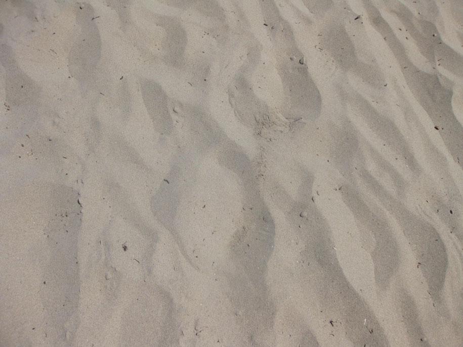 Песок на пляже Ла Фосса, Кальпе