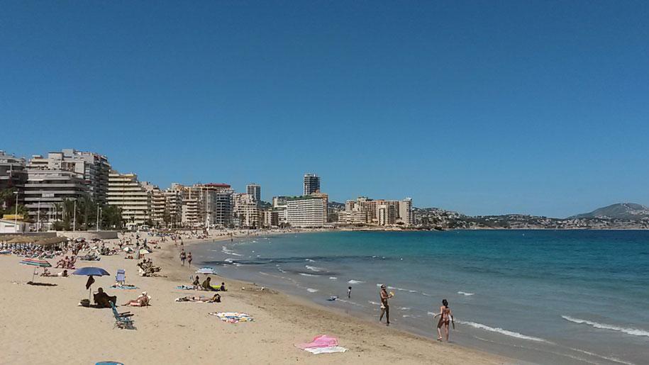 Пляжи Кальпе - песчаный пляж Ла Фосса