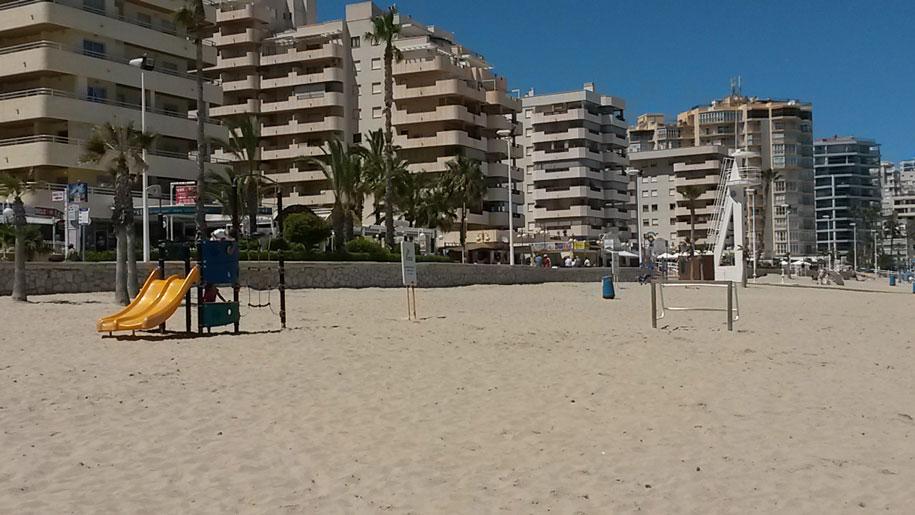 Playa De La Fossa, Кальпе