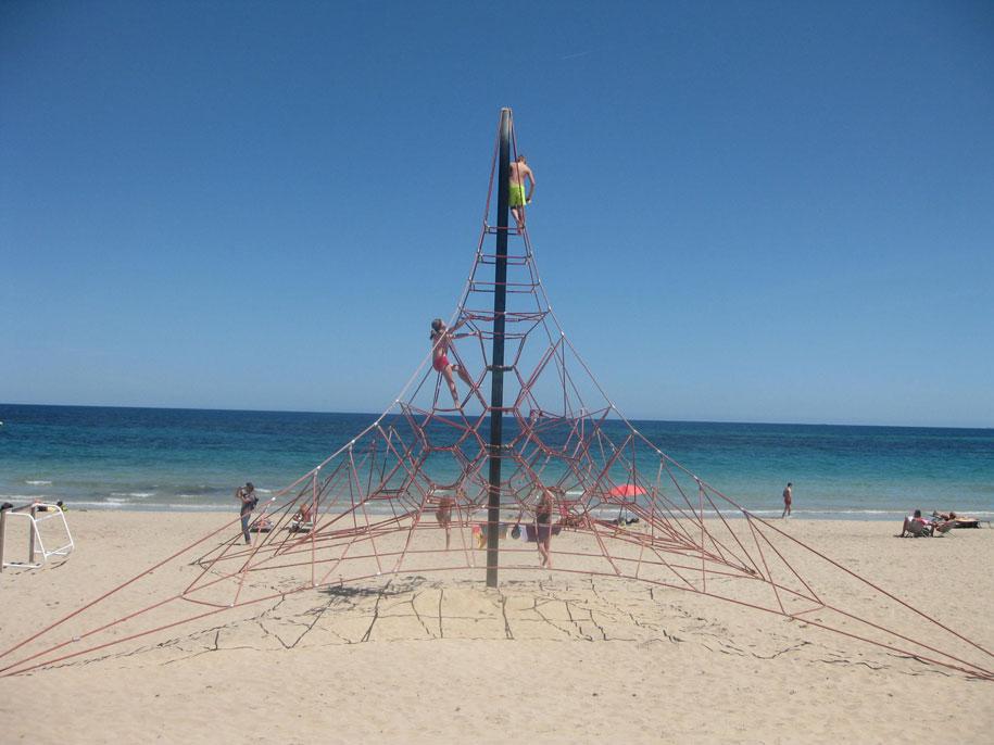 Пляж Ла Фосса в Кальпе, Испания