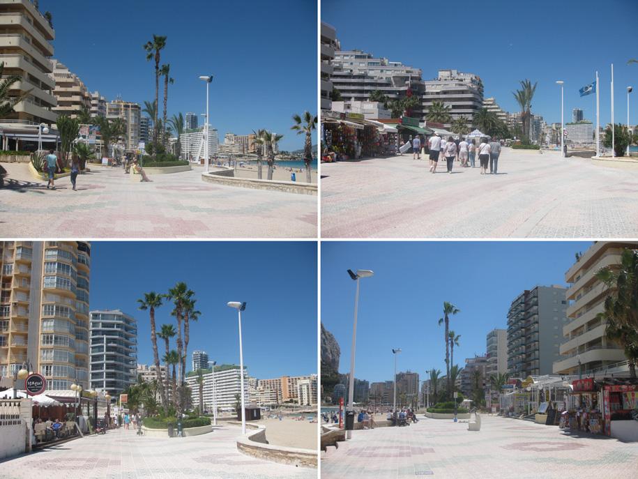 Набережная, пляж Ла Фосса, Кальпе