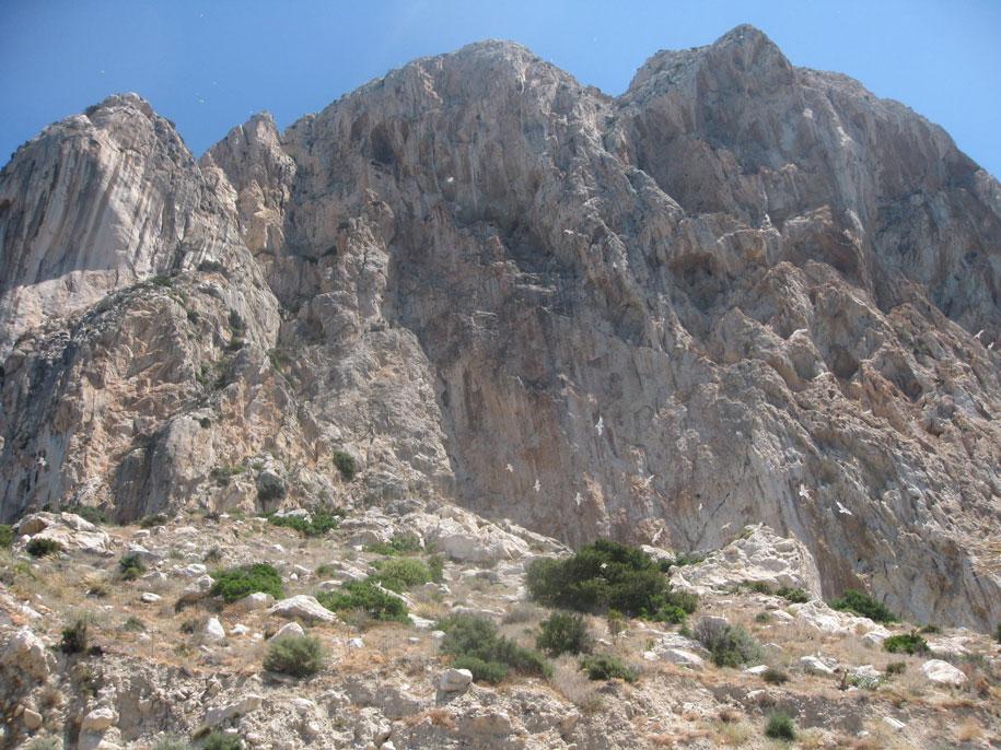 Скала Ифач, вид с набережной принца Астурии, Кальп