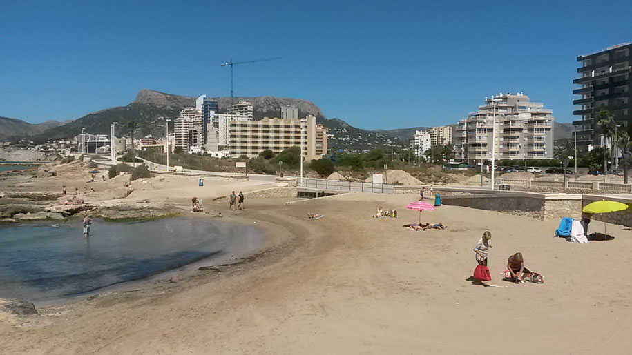 Пляж Morello в Кальпе