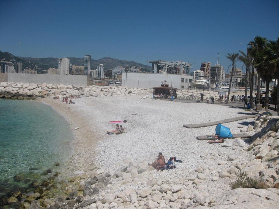 Пляж Ел Рако в Кальпе