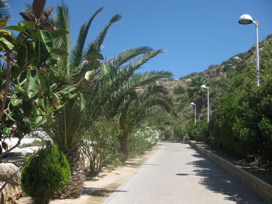 Экологическая тропа принца Астурии, Кальпе