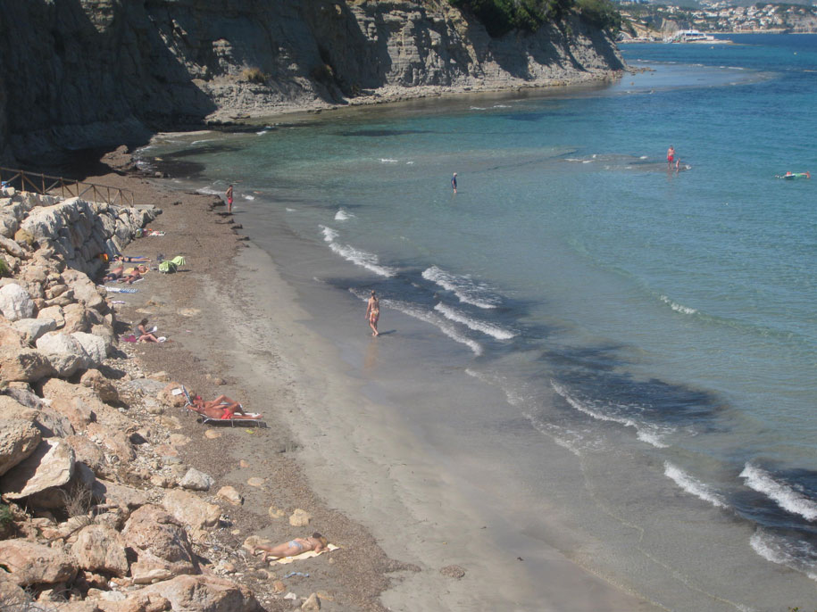 Пляж Ла Калалга в Кальпе