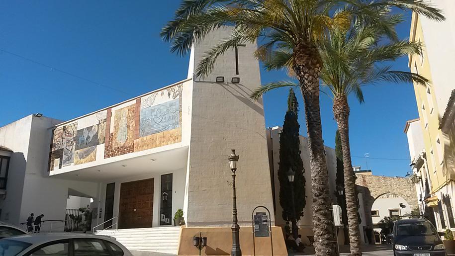 Достопримечательности Кальпе - церковь Parroquia Virgen De Las Nieves
