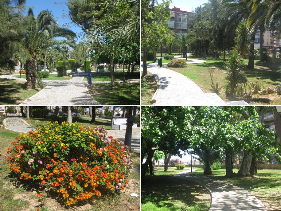 Парк возле пляжа Асекьон, Торревьеха, Испания