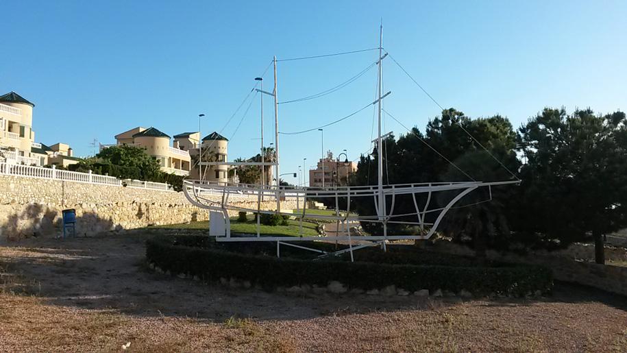Парк старой башни в Торревьехе
