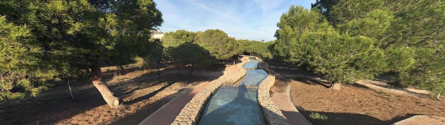 Парк Водяная мельница, Торревьеха