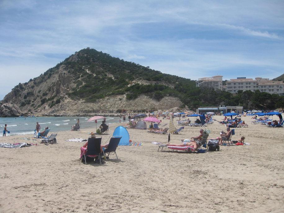 Пляж Финестрат, Испания