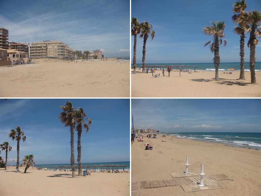 Инфраструктура пляжа Ла Мата