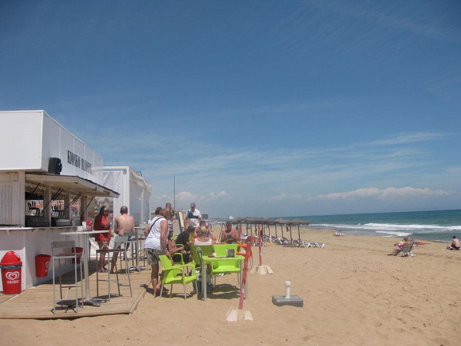 Кафе на пляже Ла Мата, Торревьеха