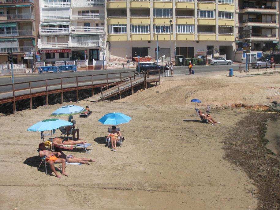 Пляж-бухта Кала дель Палагре, Торревьеха