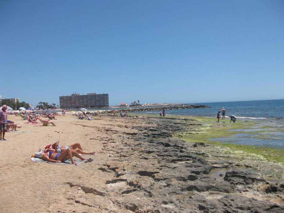 Бухта Кала дель Палагре, пляж Лос Локос, Торревьеха