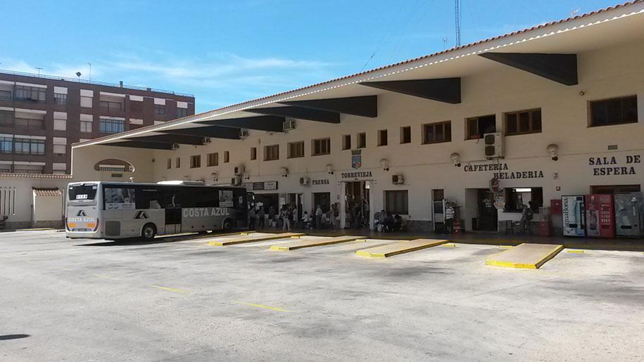 Автостанция в Торревьехе