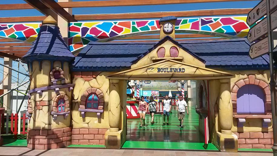 Детская зона Zenia Boulevard