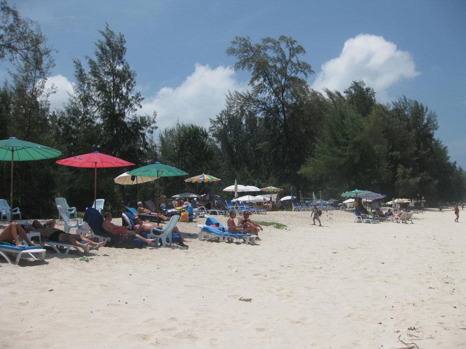 Отдых на пляже Банг Тао