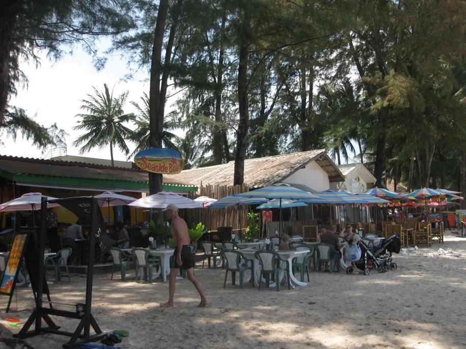 Кафе на пляже Банг Тао