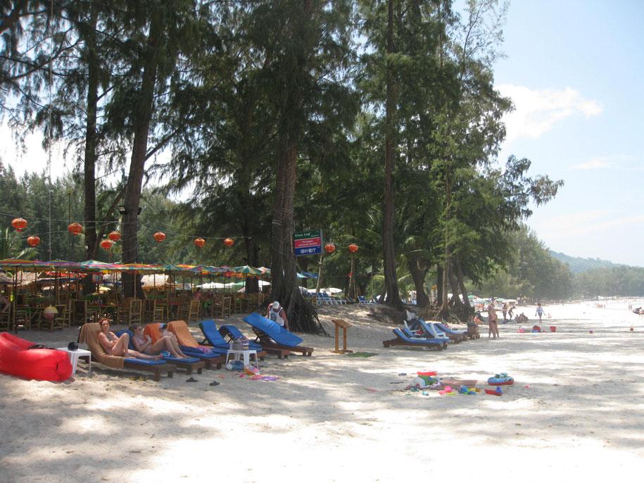 Пляж Бангтао
