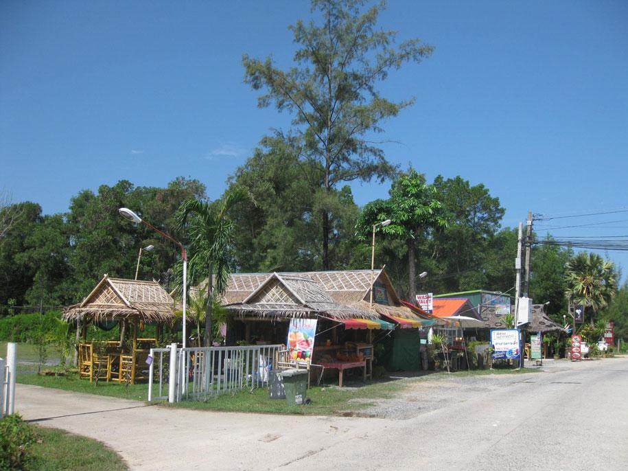 Торговые лавки в Банг Тао