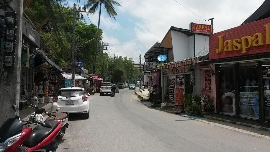 Развитая часть Банг Тао, Пхукет
