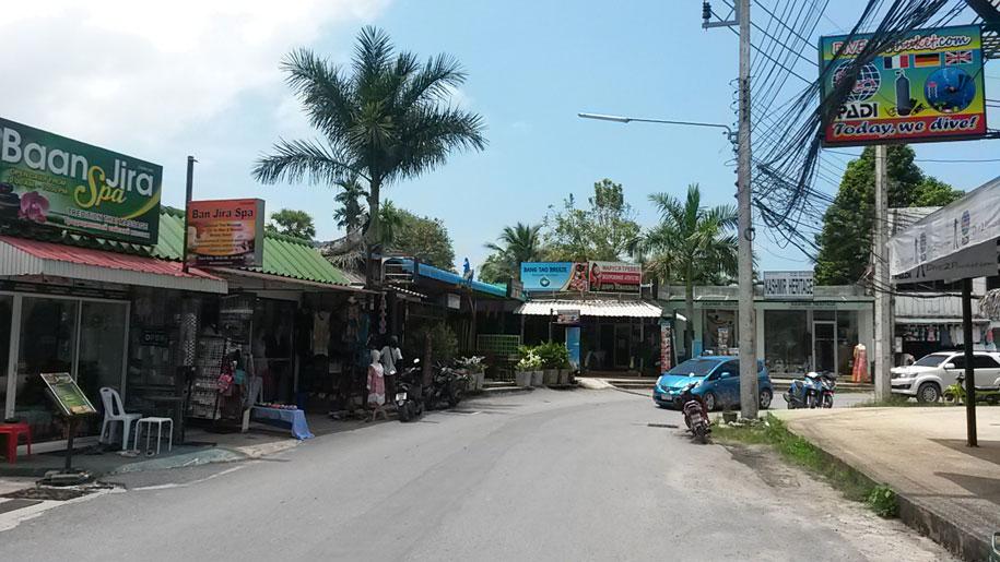 Развитая часть Банг Тао