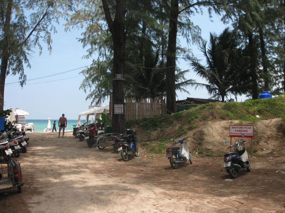Подходя к пляжу Бангтао, Пхукет