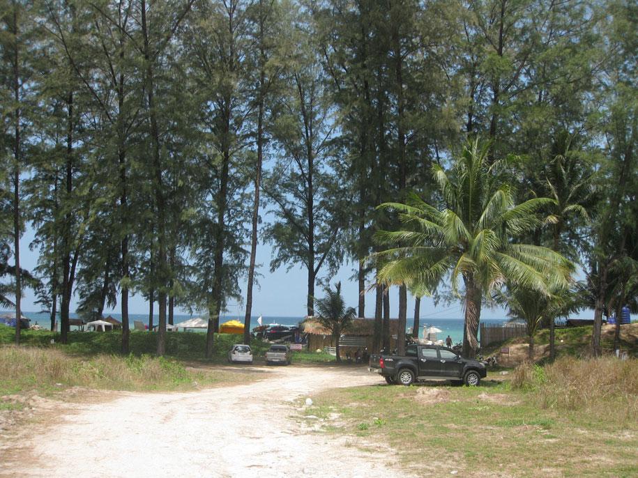 Подходя к пляжу Бангтао