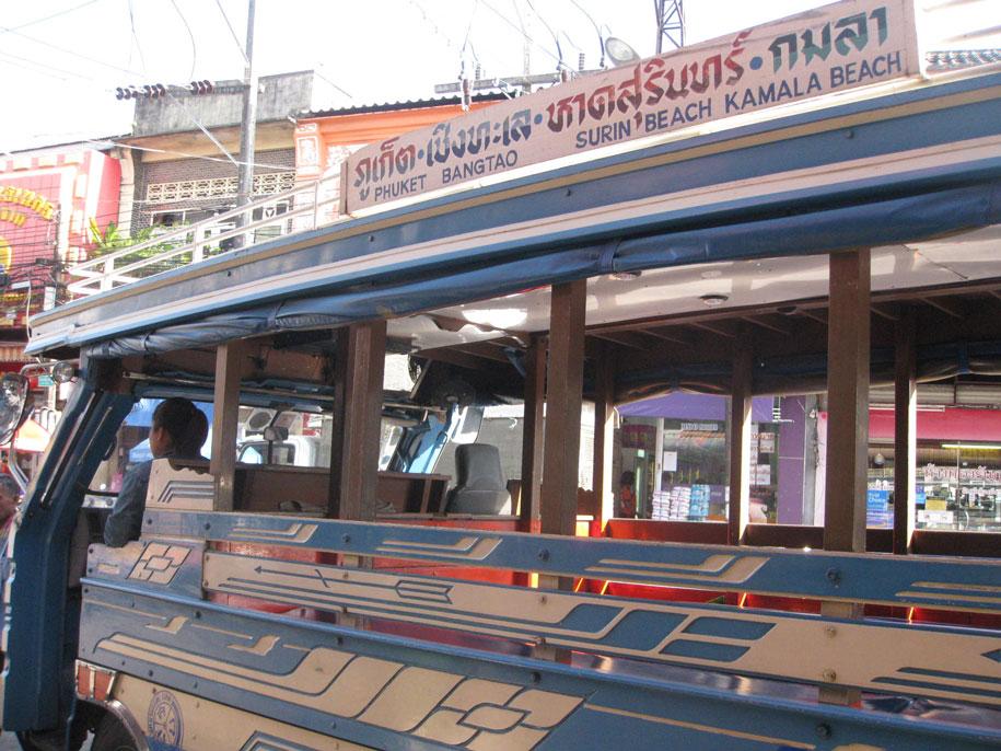 Сонгтео Phuket - Bangtao - Surin - Kamala