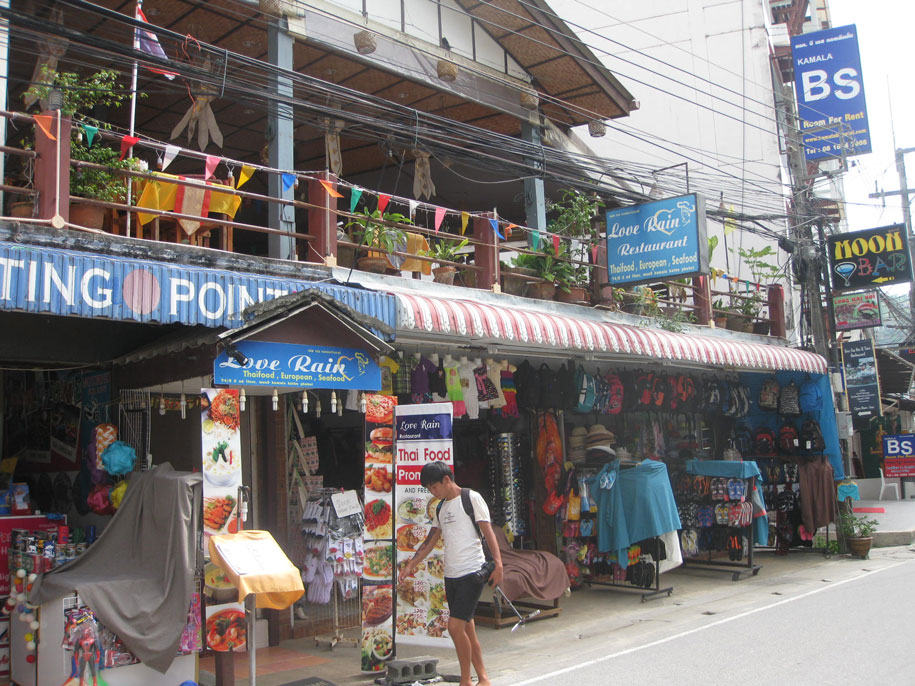 Центральные улицы Камалы, остров Пхукет