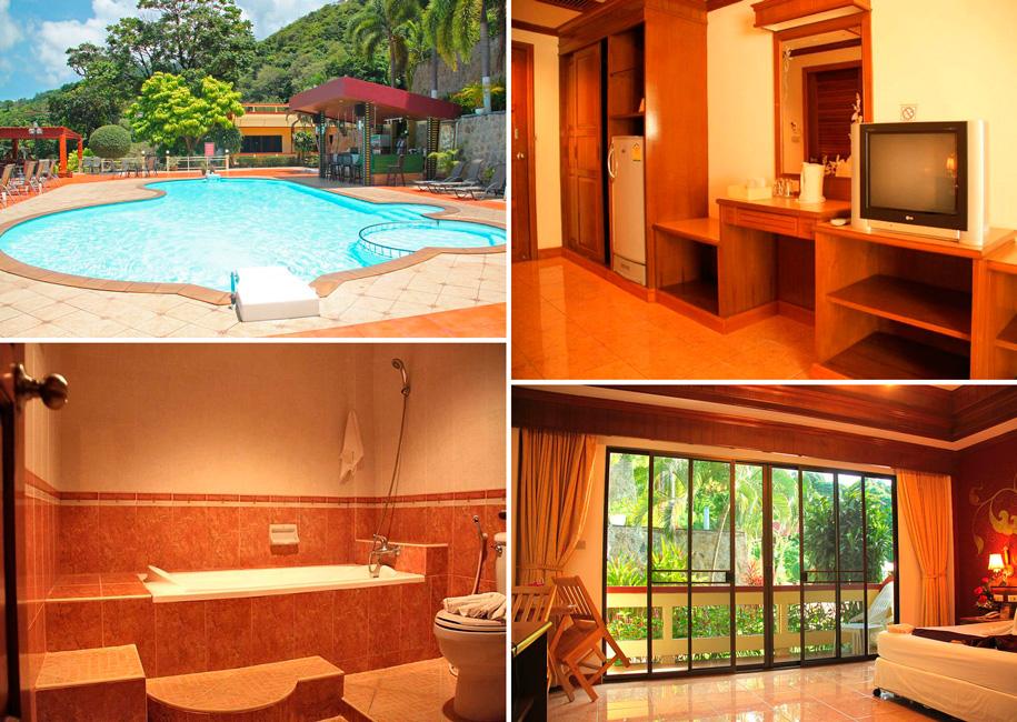 3-звездочный курортный отель Manohra Cozy Resort, Карон, Пхукет