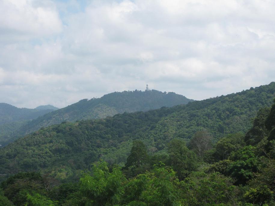 Вид со смотровой площадки Karon View Point